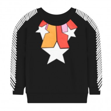 Stella McCartney Kids Stars Necklace Sweatshirt - Stella McCartney Kids 601085spj95-stellamccartneykids30