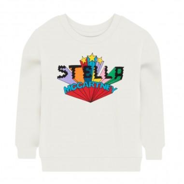 Stella McCartney Kids Felpa Logo - Stella McCartney Kids 601083spj02-stellamccartneykids30