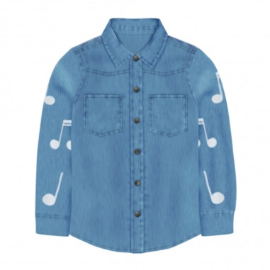 Stella McCartney Kids Camicia Note Musicali - Stella McCartney Kids 601428spk67-stellamccartneykids30