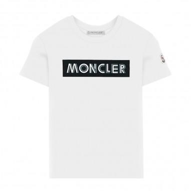 Moncler Cream T-Shirt - Moncler 8c72720-83092-034-moncler30