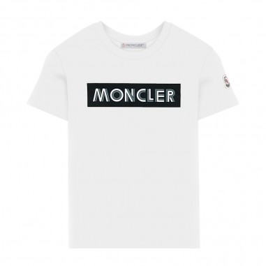 Moncler T-Shirt Panna - Moncler 8c72720-83092-034-moncler30