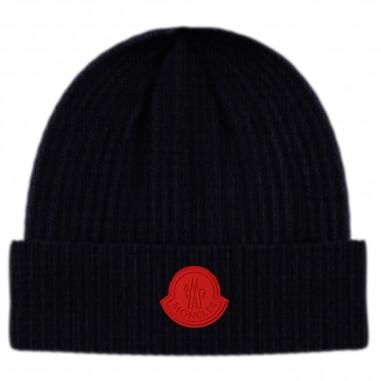 Moncler Blue Hat - Moncler 9z71020-a9433-778-moncler30