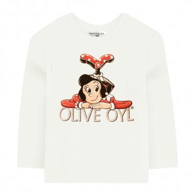 Monnalisa T-Shirt Girocollo - Monnalisa 116626sw-monnalisa30