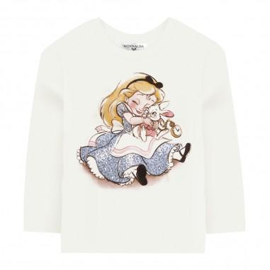 Monnalisa Jersey T-Shirt - Monnalisa 396620p6-monnalisa30