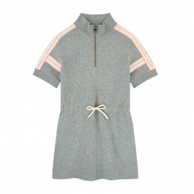 Chloé Kids Grey Dress - Chloé Kids c12789-chloekids30