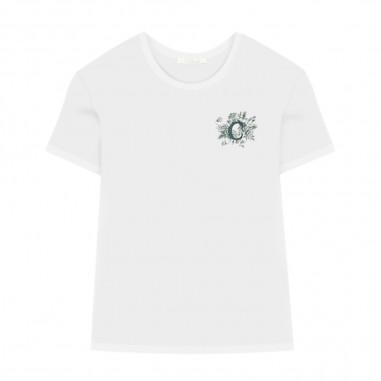 Chloé Kids White T-Shirt - Chloé Kids c15b58-chloekids30