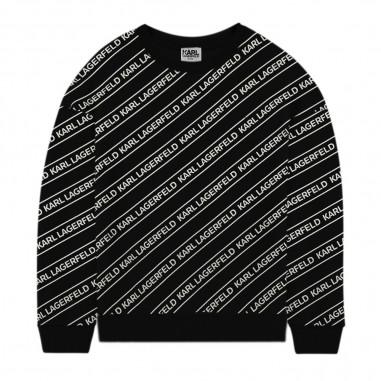 Karl Lagerfeld Kids Allover Sweatshirt - Karl Lagerfeld Kids z25266-karllagerfeldkids30