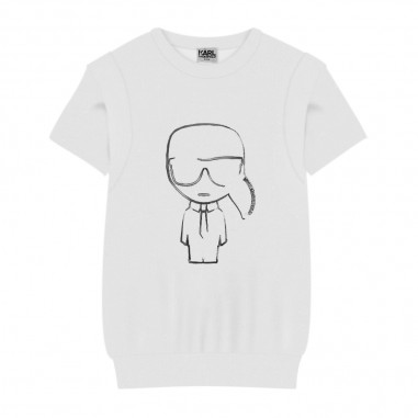 Karl Lagerfeld Kids T-Shirt Bianca - Karl Lagerfeld Kids z25246-bianco-karllagerfeldkids30