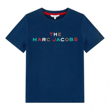 Little Marc Jacobs Logo T-Shirt - Little Marc Jacobs w25435-blu-littlemarcjacobs30