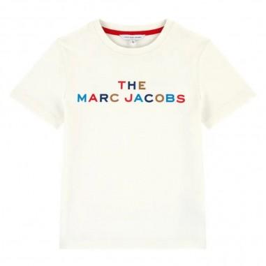Little Marc Jacobs White T-Shirt - Little Marc Jacobs w25435-bianco-littlemarcjacobs30