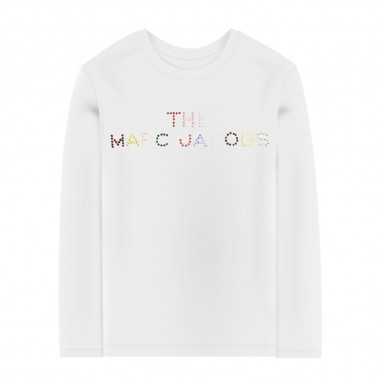 Little Marc Jacobs White Long Sleeve T-Shirt - Little Marc Jacobs w15514-littlemarcjacobs30