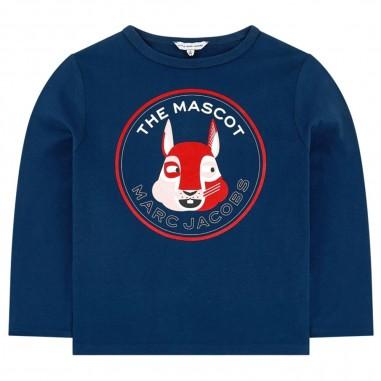 Little Marc Jacobs Blue Long Sleeve T-Shirt - Little Marc Jacobs w15530-littlemarcjacobs30