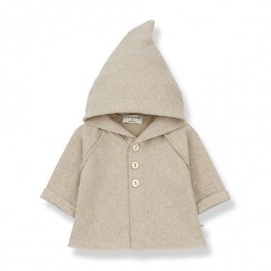 1+ In the Family Cream Hood Jacket - 1+ in the Family alphonsecream-onemoreinthefamily30