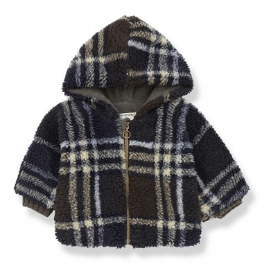 1+ In the Family Blue Notte Hood Jacket - 1+ in the Family besiberriblue-onemoreinthefamily30