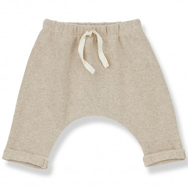 1+ In the Family Pantalone Baggy Panna - 1+ in the Family adriencream-onemoreinthefamily30