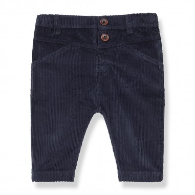 1+ In the Family Blue Notte Pants - 1+ in the Family anglesbluenotte-onemoreinthefamily30
