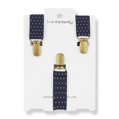 1+ In the Family Blue Notte Suspenders - 1+ in the Family koldoblue-onemoreinthefamily30