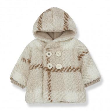 1+ In the Family Ecru Hood Jacket - 1+ in the Family eugeneecru-onemoreinthefamily30