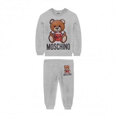 Moschino Kids Completo Felpa Neonati - Moschino muk02p-lda14-moschino30