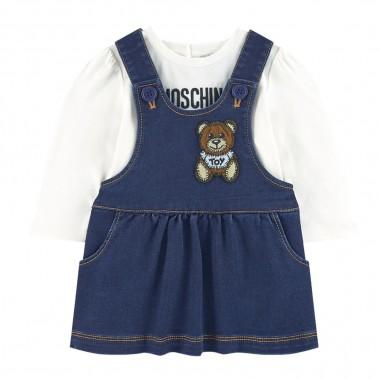 Moschino Kids T-Shirt & Dress Baby Set - Moschino mdk01q-lde07-moschino30