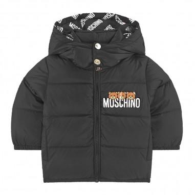 Moschino Kids Blue Down Jacket - Moschino mxs015-l3a32-moschino30