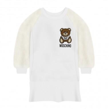 Moschino Kids Flounce Baby Dress - Moschino mdv08h-lda16-moschino30