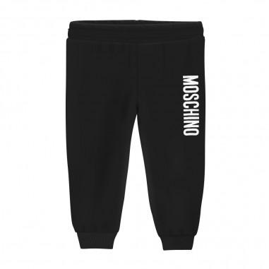 Moschino Kids Black Jogger - Moschino hop02y-lda26-moschino30