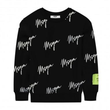 MSGM Boys Allover Sweatshirt - MSGM 25287-msgm30