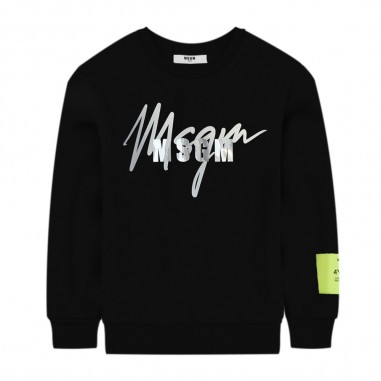 MSGM Black Logo Sweatshirt - MSGM 25293-msgm30