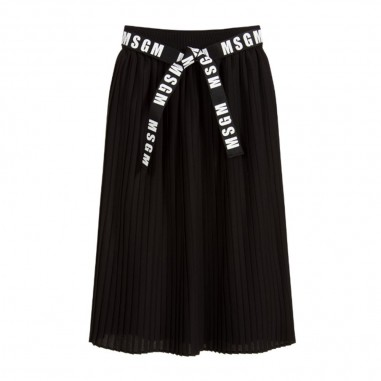 MSGM Girls Long Crepe Skirt - MSGM 25209-msgm30