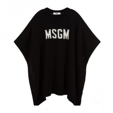MSGM Mantella Nera Bambina - MSGM 25147-msgm30