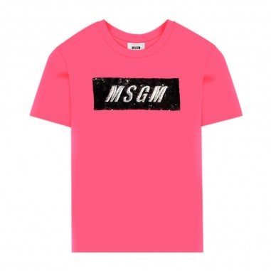 MSGM Girls Maxi T-Shirt - MSGM 25197-msgm30