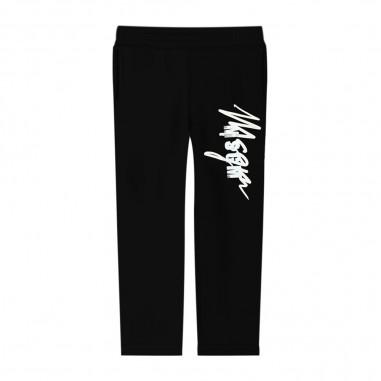 MSGM Pantalone Felpa Nero - MSGM 25289-msgm30