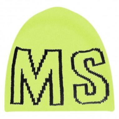 MSGM Cappello Giallo Fluo - MSGM 25301-023-msgm30