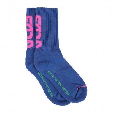 GCDS mini Royal Socks - GCDS mini 25806-130-gcdsmini30