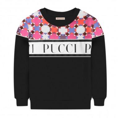 Emilio Pucci Junior Felpa Logo - Emilio Pucci Junior 9n4080-emiliopuccijunior30