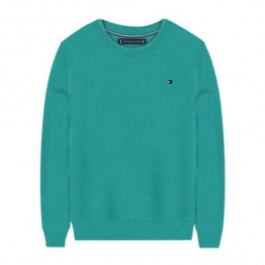 Tommy Hilfiger Kids Essential Cashmere Sweater - Tommy Hilfiger Kids kb0kb05811
