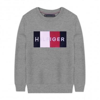 Tommy Hilfiger Kids Logo Sweater - Tommy Hilfiger Kids kb0kb05812