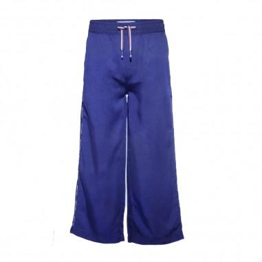 Tommy Hilfiger Kids Woven Wide Leg Jogpants - Tommy Hilfiger Kids kg0kg05185