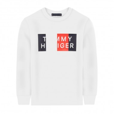 Tommy Hilfiger Kids T-Shirt Manica Lunga Bianca - Tommy Hilfiger Kids kb0kb05850