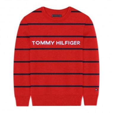 Tommy Hilfiger Kids Stripe Sweater - Tommy Hilfiger Kids kb0kb06084