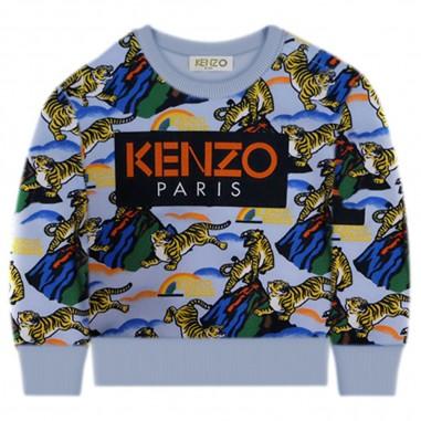 Kenzo Felpa Kenzo Jungle Neonato - Kenzo kr15507-kenzo30
