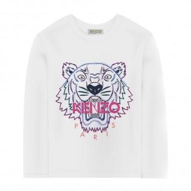 Kenzo Baby Girls Tiger T-Shirt - Kenzo kr10087-kenzo30