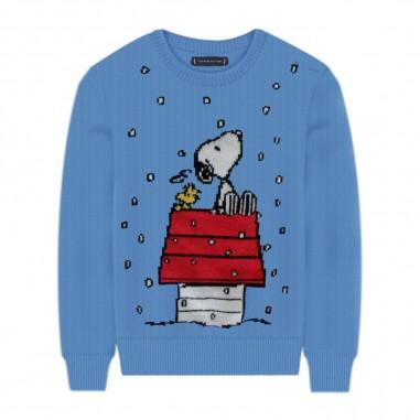 Mc2 Saint Barth Snow Snoopy Sweater - Mc2 Saint Barth douglass-snoopysnow-mc230