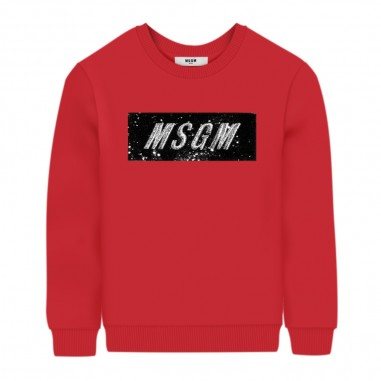 MSGM Felpa Fucsia Bambina - MSGM 25155-msgm30