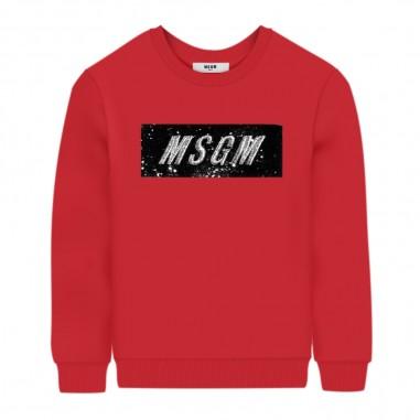 MSGM Girls Fucsia Sweatshirt - MSGM 25155-msgm30