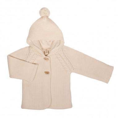 Natura Pura Baby Knitted Jacket - Natura Pura 018naturapura30