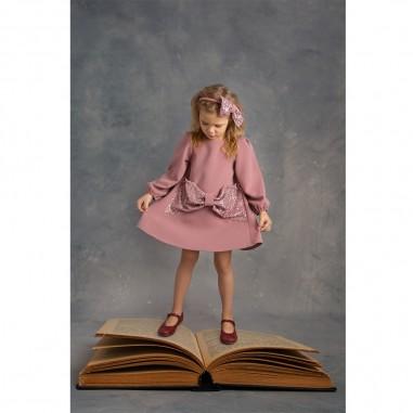 Piccola Ludo Pink Sequined Dress - Piccola Ludo venere-paillettes-piccolaludo30