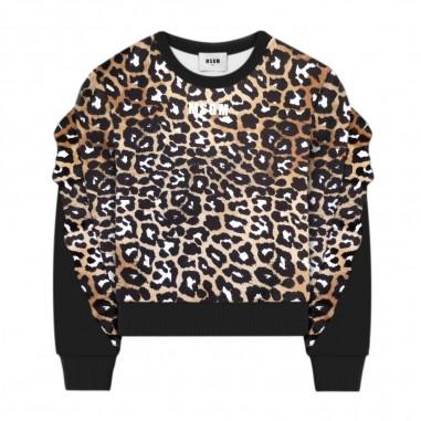 MSGM Girls Cropped Sweatshirt - MSGM 25081-msgm30