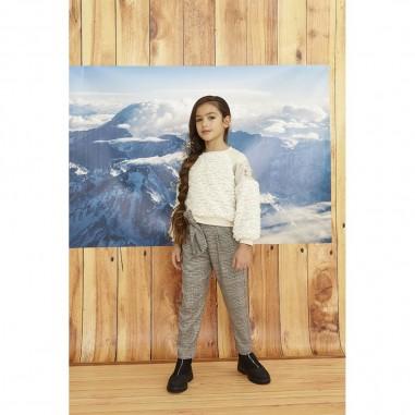 Dixie Kids Girls Checked Trousers - Dixie pe74123g26-2133-dixie30